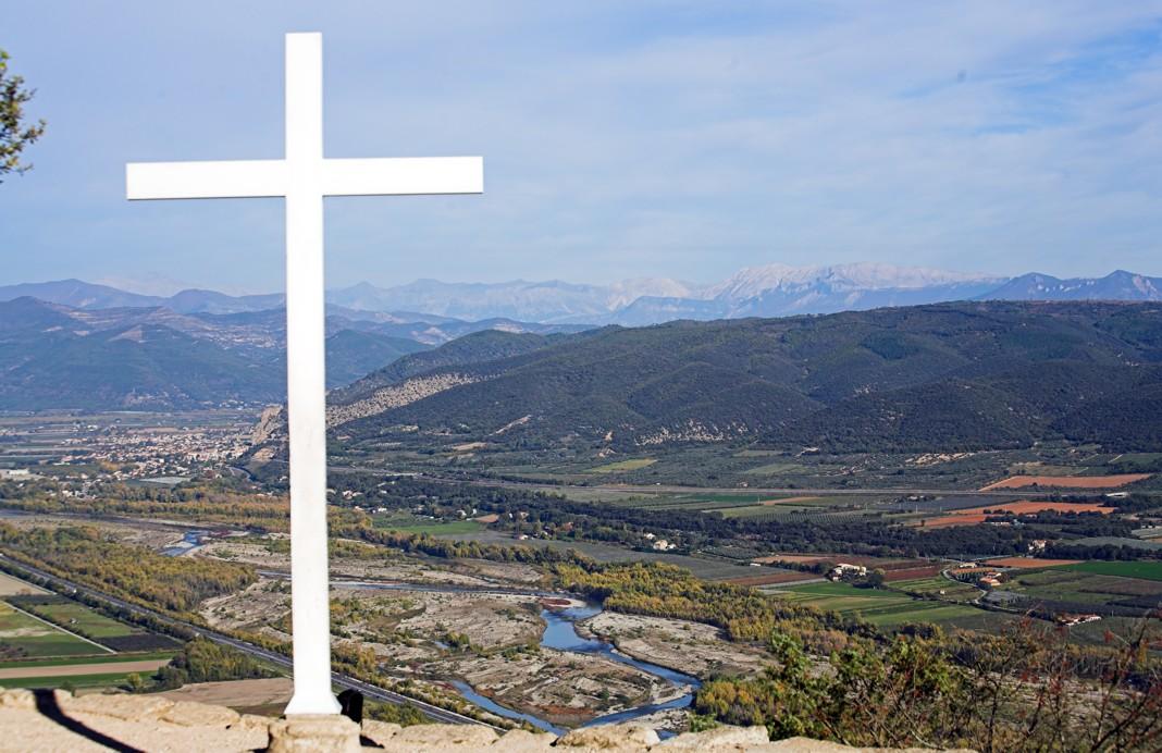 Croix du prieuré de Ganagobie